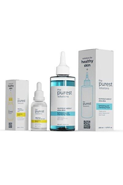 The Purest Solutions Koyu Leke ve Gözenek Önlemeye Yardımcı Bakım Seti 200 ml + 30 ml