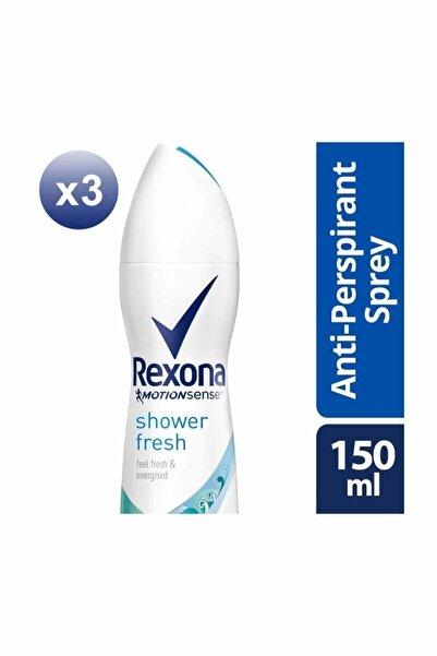 Rexona Kadın Deodorant Sprey Shower Fresh 150 ml X3