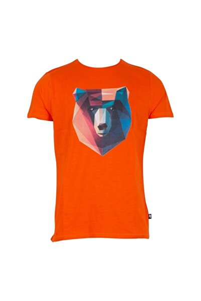 Bad Bear 21.01.07.042 Erkek T-shırt Oranj