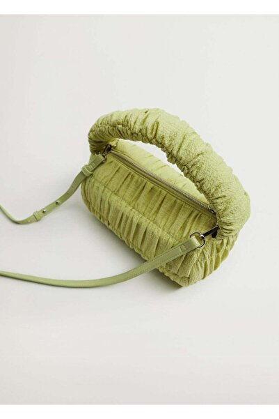 MANGO Woman Büzgü Detaylı Çanta