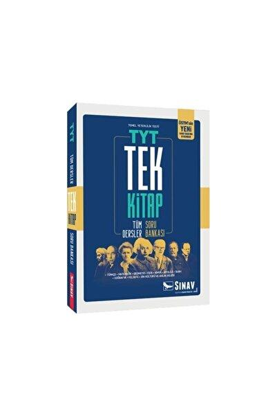 Sınav Yayınları 2021 Tyt Tüm Dersler Soru Bankası Tek Kitap