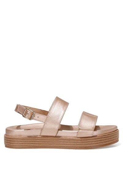 Nine West POPPY 1FX Rose Gold Kadın Kalın Tabanlı Sandalet 101008835