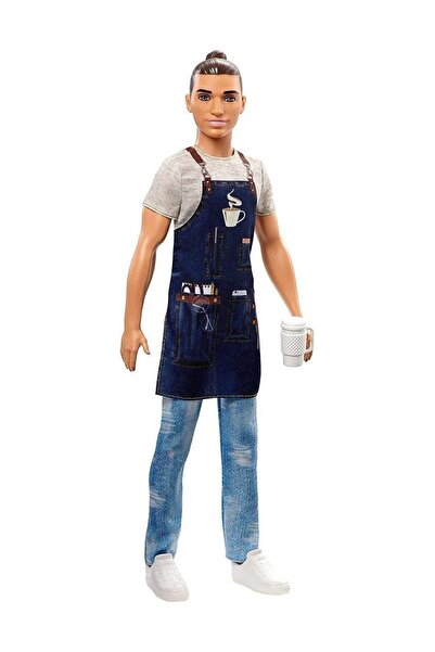 Barbie Ken Kariyer Bebekleri - Barista FXP01-FXP03