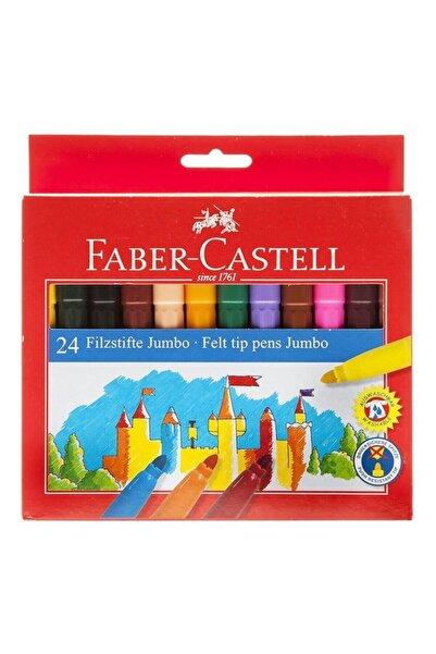 Faber Castell Faber 24 Renk Jumbo Keçeli Kalem 554324