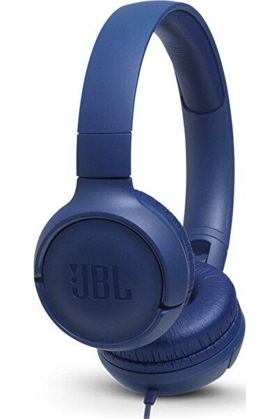 JBL T500BLU Kulak Üstü Kulaklık - Blue