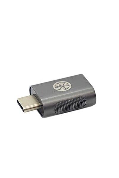 | Usb Type C Dönüştürücü Otg Çevirici Metal Adaptör | Space Grey