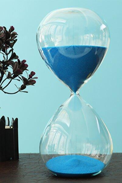 Evbuya Mavi Renkli Tam 1 Saate Akan Renkli Kum Saati