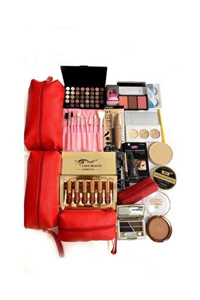 Makeuptime Ekonomik 30 Parça Makyaj Seti Beyaz Ten