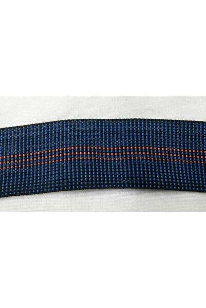 MOR SALKIM HOME 50 Mm Genişlik Dagcılık Icin Kalın Dokuma Elastik Şerit Lacivert Renk Polyester (5 METRE)