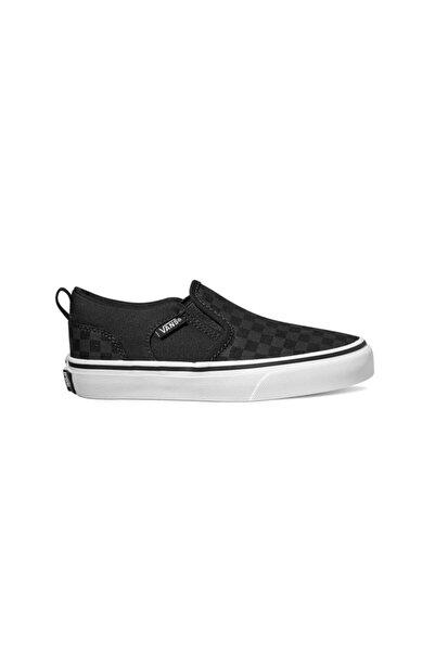 Vans Asher Checkerboard Unisex Çocuk Sneaker
