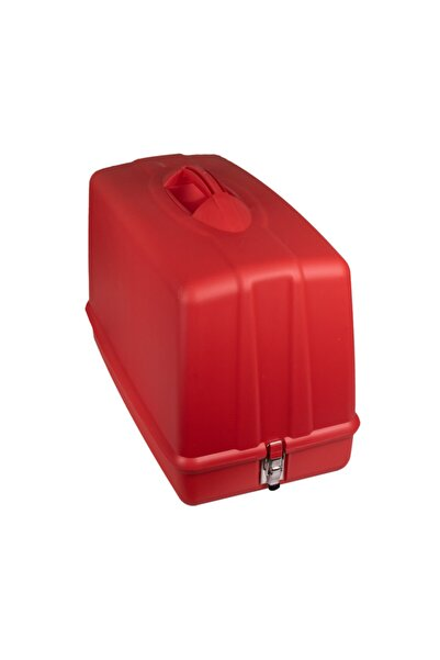 SİNGER Tüm Yeni Tip Dikiş Makinelerine Uygun Taşıma Kabı Ve Koruma Çantası (Kırmızı Renk)
