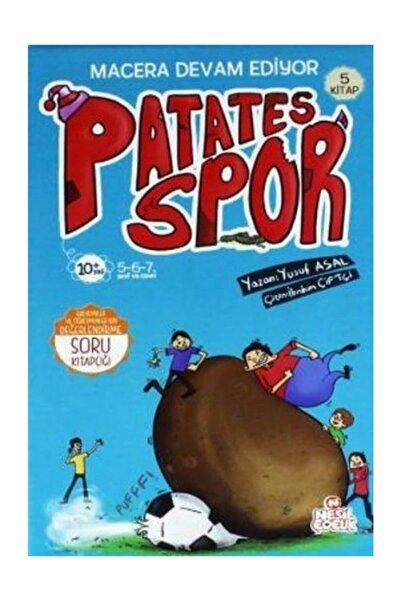 Nesil Çocuk Yayınları Patates Spor: Macera Devam Ediyor 2. Set (5 KİTAP) - Nesil Yayınları
