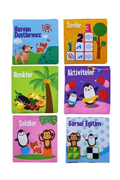 metafortoys Bebeğimin Ilk Kitap Seti Hışırtılı Bez Kitap Seti 6 Kitap