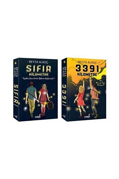 İndigo Kitap Sıfır Kilometre - 3391 Kilometre 2 Kitap Set