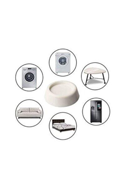 pekars Beyaz Eşya Altlığı Ayağı 4 Adet Çamaşır Bulaşık Makinası Buzdolabı Yükseltici Titreşim Önleyici
