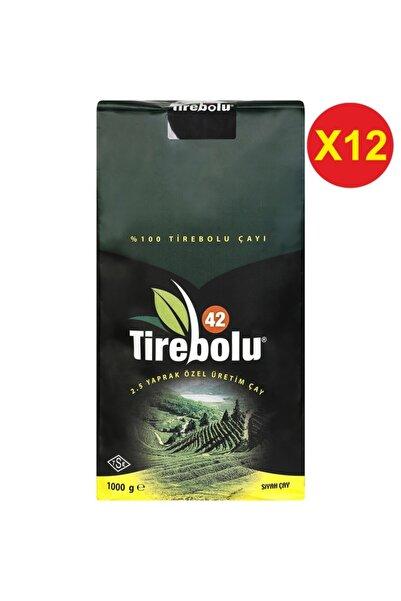 Tirebolu 42 Özel Üretim Siyah Çay 1000 Gr X 12 Adet