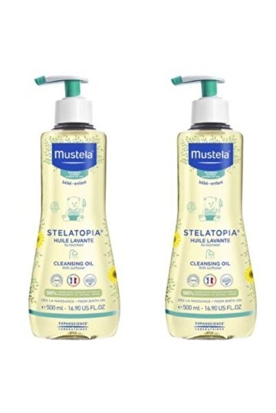 Mustela Stelatopia Cleasing Oil 500 Ml X2 Adet