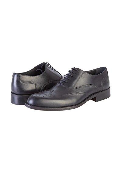 Kiğılı Bağcıklı Klasik Deri Ayakkabı