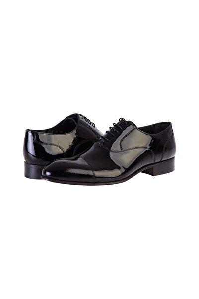 Kiğılı Bağcıklı Klasik Rugan Ayakkabı