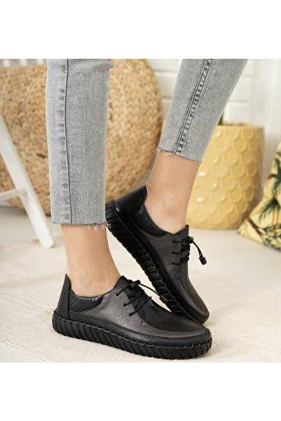 daser Kadın Günlük Deri Ayakkabı