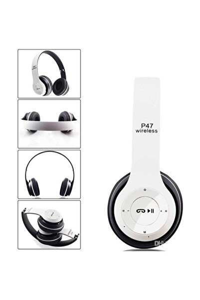 POLYGOLD P47POL Bluetooth Kulaklık Mp3 Fm Solo 2 Beats Model Kulaküstü