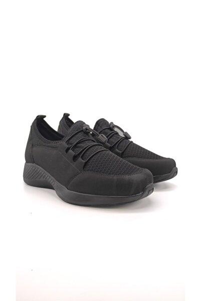 King Kadın Siyah Günlük Comfort Ayakkabı