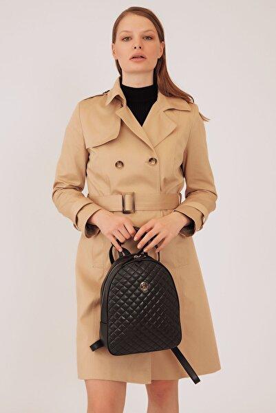 U.S. Polo Assn. Sıyah Kadın Sırt Çantası Us8375
