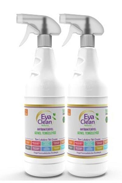EYA CLEAN Antibakteriyel Genel Temizleyici (1 Bez Hadiyeli) 2 Adet 1 Litrelik