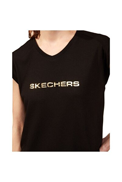 SKECHERS Kadın Graphic Tee W Crew Neck T-shirt