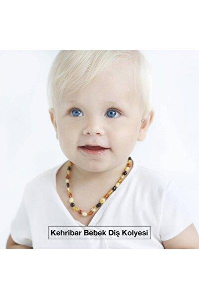 Mislinababy Kehribar Bebek Diş Kolyesi, Kehribar Kolye Kız Erkek Çocuk Bebek Diş Kolyesi
