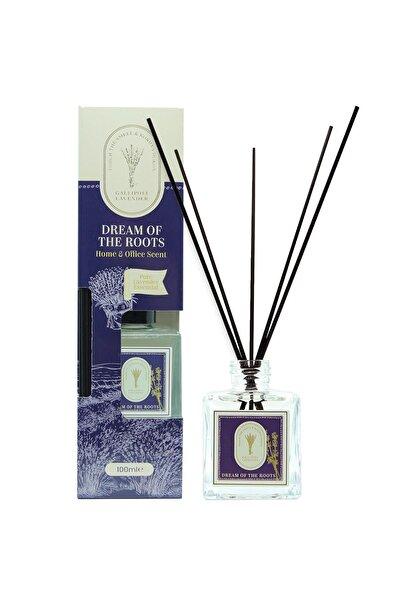 Gallipoli Lavender Doğal Lavanta Yağlı Bambu Çubuklu Koku 100 ml