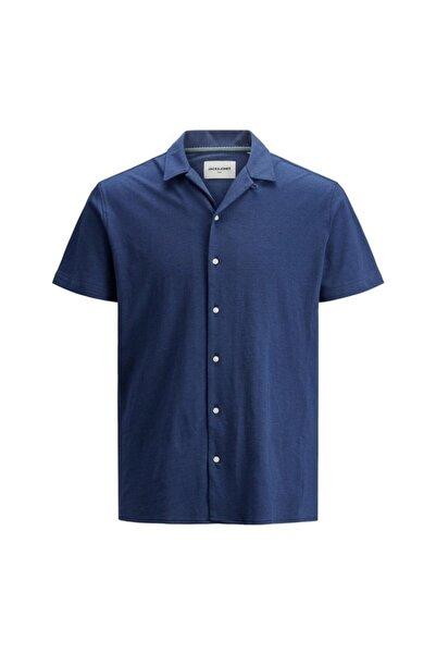 Jack & Jones Erkek Lacivert Düğmeli Gömlek