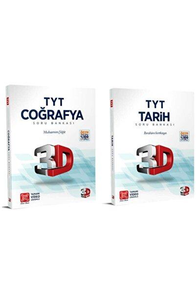 3D Yayınları 3d Tyt Coğrafya + Tyt Tarih 2'li Set