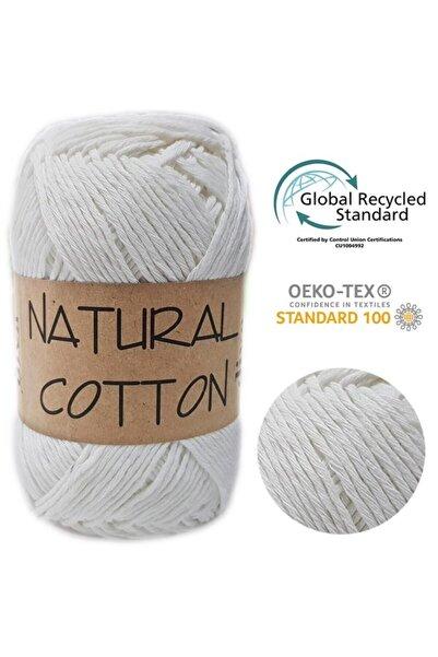 Diva İplik Diva Natural Cotton - Koton Ip - Pamuklu Elörgü Ipi - 288 Kemik