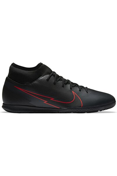 Nike Erkek Siyah  Futbol Ayakkabısı At7979-060 Mercurial Superfly 7 Club Ic