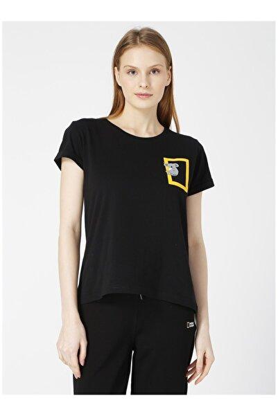NATIONAL GEOGRAPHIC Siyah Tişört