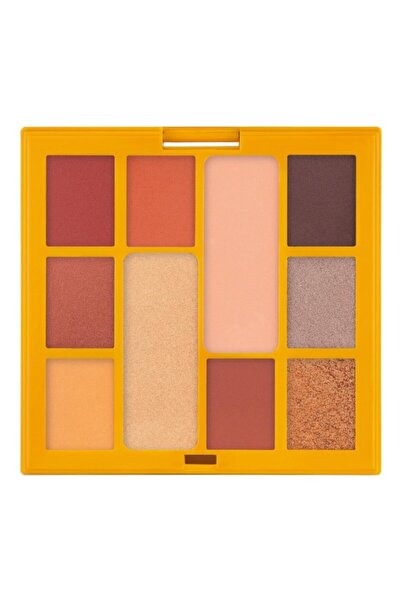 Pastel Mat Ve Işıltılı 10 Renk Far Paleti Yüksek Pigmentasyon