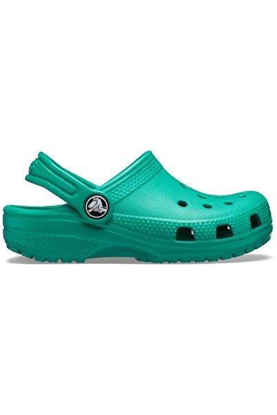 Crocs Kids Classic Clog K  Yeşil Unisex Çocuk Spor Sandalet