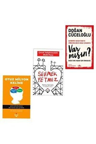 Buzdağı Yayınları Kendini Keşfetmeye Varmısın Sevmek Yetmez Otuz Milyon Kelime Kişisel Gelişim Seti