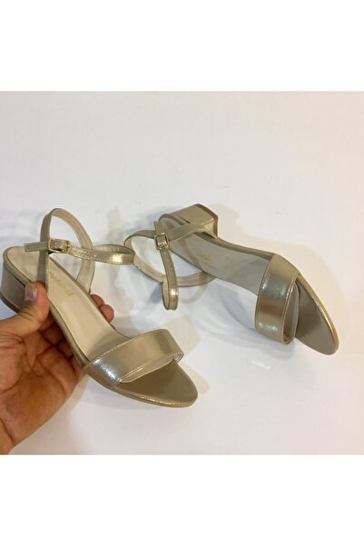 Polaris Kadın Gold Sandalet