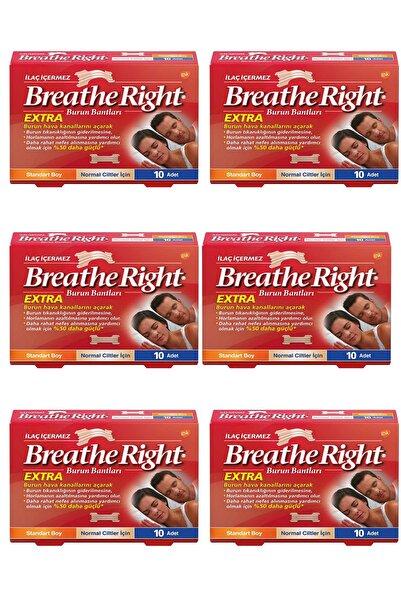 Otrinatura Breathe Right Ekstra Burun Bandı Normal Boy 10 Adet 6'lı Paket