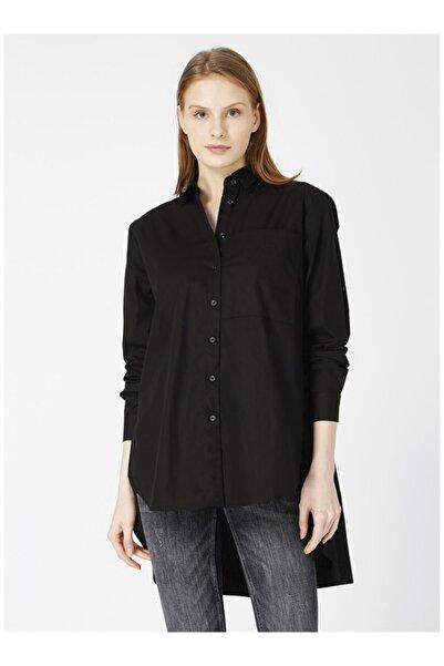Fabrika Kadın Siyah Gömlek