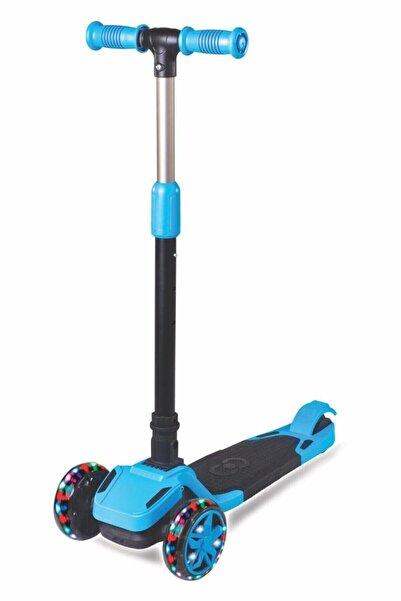 Furkan Tulpar 4 Yaş Ve Üzeri Katlanabilir Işıklı Scooter