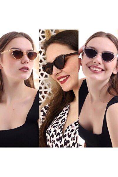 Della Pianto Kadın Güneş Gözlüğü 3lü Set