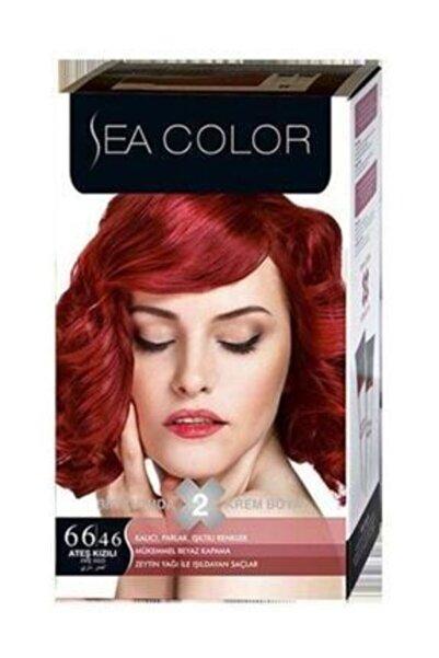 Sea Color 2'li Krem Saç Boyası 66/46 Ateş Kızılı