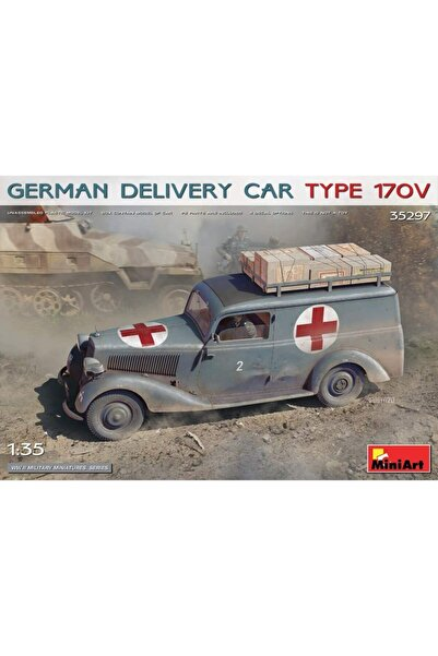 Airfix Miniart Maket Araba 1:35 German Delivery Car Type170v