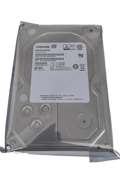 "Toshiba 3.5"" 4 Tb Md03aca400r Sata 3.0 7200 Rpm Pc Hard Disk"