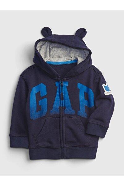 GAP Logo Baskılı Sweatshirt