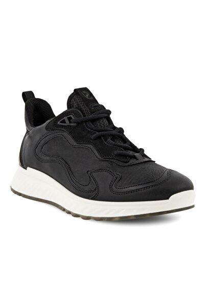 Ecco Kadın Siyah Spor Ayakkabı