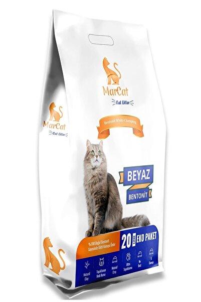 MarCat Kokusuz İnce Taneli Topaklanan Kedi Kumu 20 lt